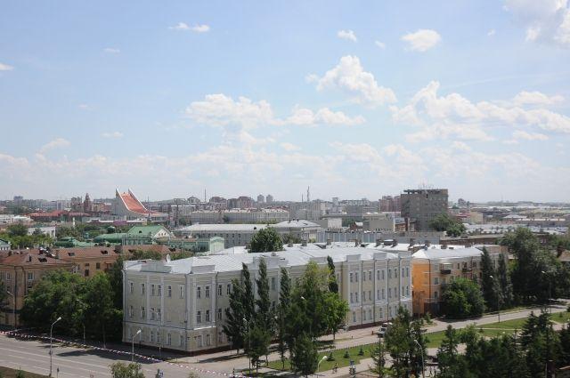 Наш любимый Омск так красив с высоты птичьего полета!