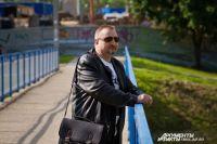 На фото - писатель Игорь Осипов.