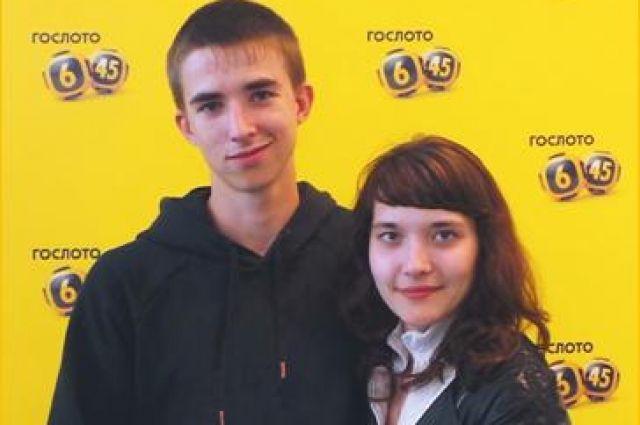 Молодая семья в Челябинске победила в лотерее после свадьбы
