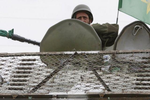 На границе с РФ