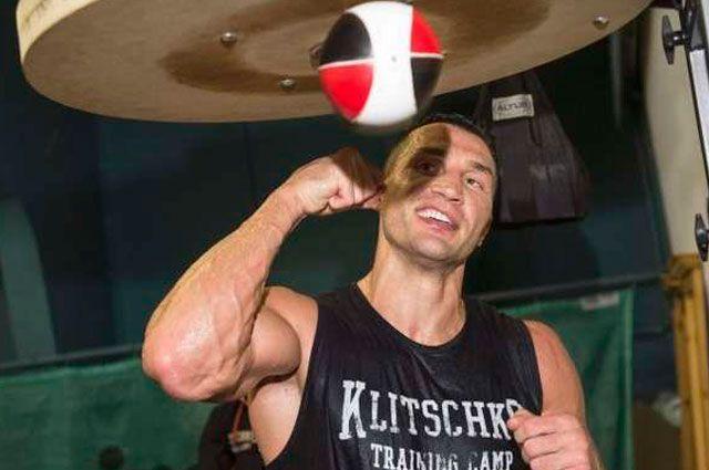 Владимир Кличко, чемпион мира по версии WBC, IBF, IBO и WBO