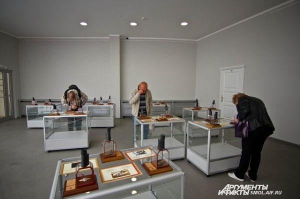 Выставка пользуется успехом у жителей Смоленска.