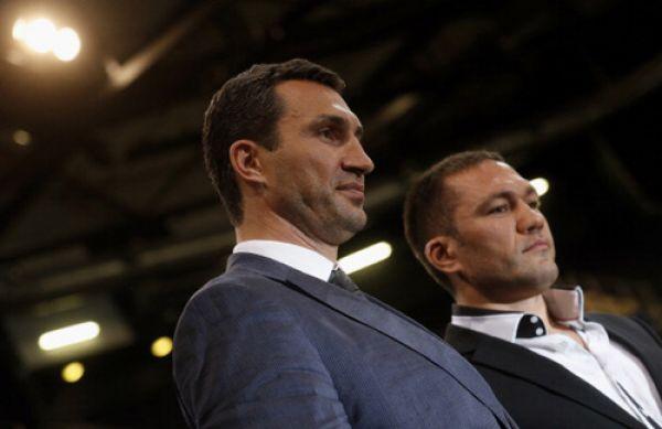 Владимир Кличко и Кубрат Пулев