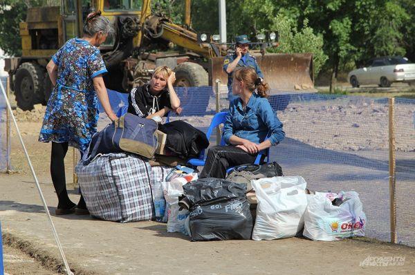 В момент нашего посещения лагеря здесь находилось 250 человек.