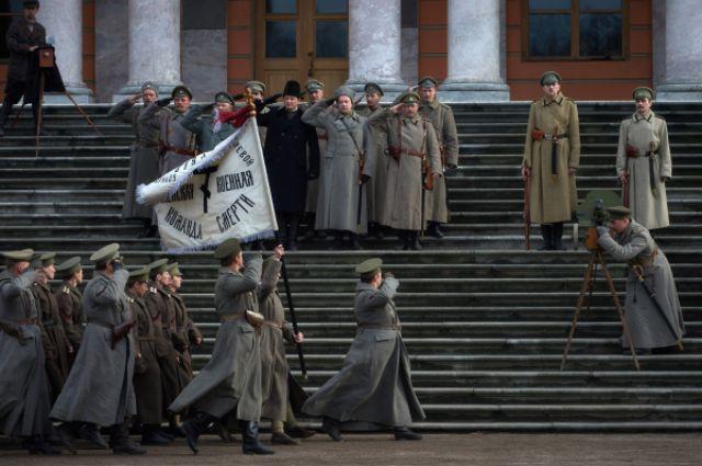Съёмки фильма «Батальон смерти».