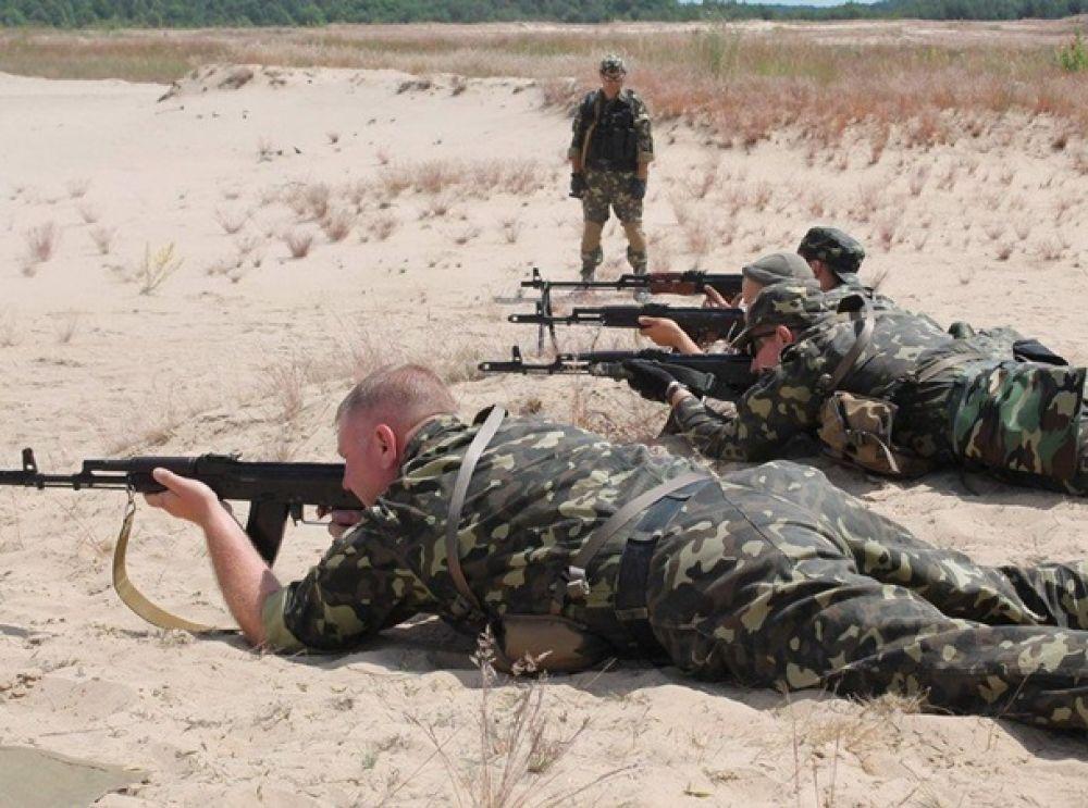 Учения украиских силовиков