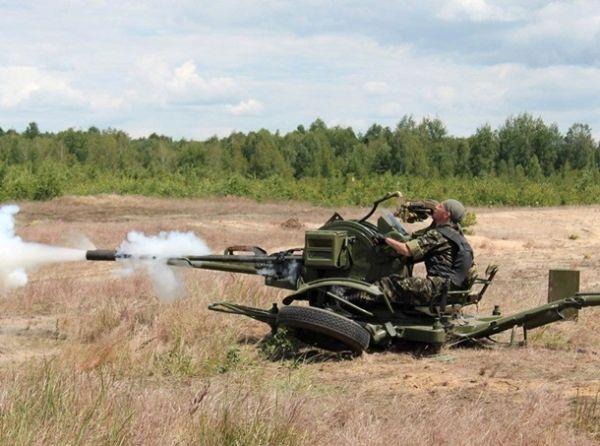 Как военные стреляют из артиллерийской установки