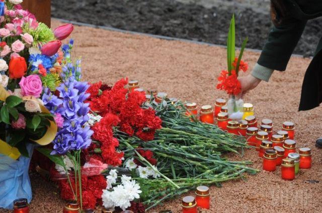 Цветы для Небесной сотни