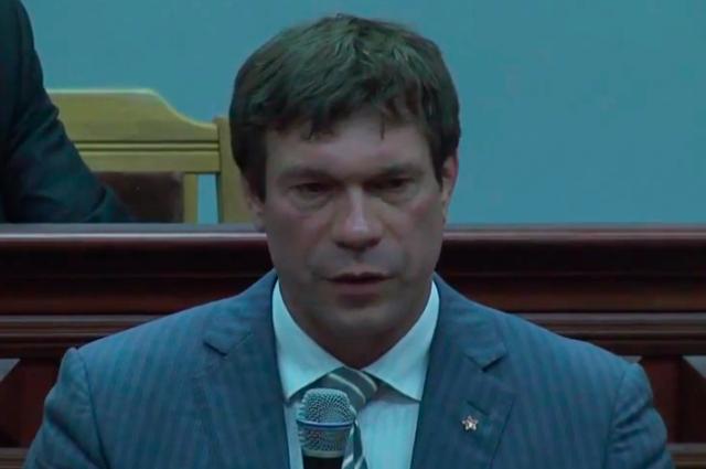 Олег Царев, спикер парламента «Союза народный республик»