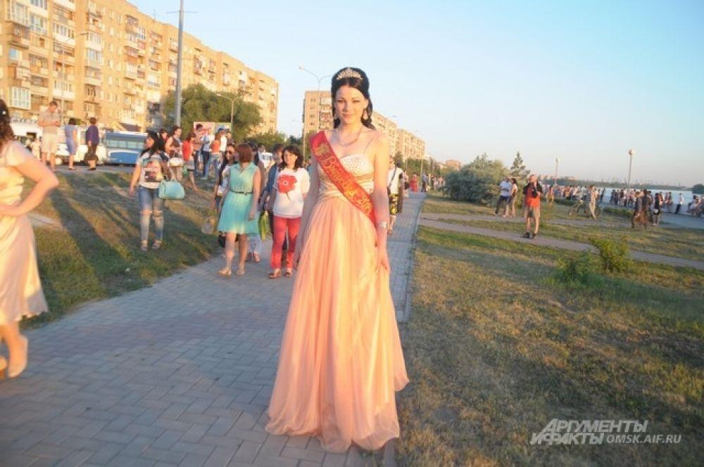 Выпускной в Омске.