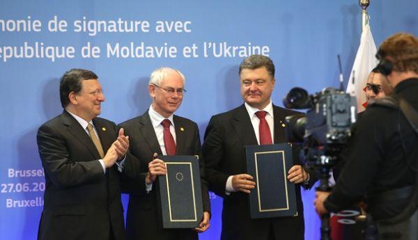 Украина подписала экономическую часть Ассоциации с ЕС