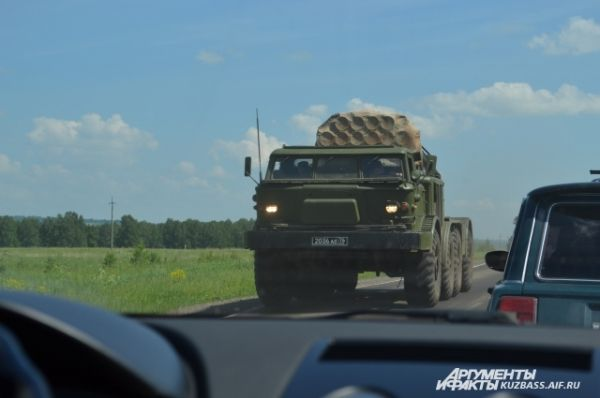 Юргинцы уже привыкли пропускать военных, к тому же, на такой «Ураган» и полюбоваться приятно, чувствуешь гордость.