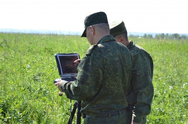 Учения проводились на 251 общевойсковом полигоне в Юрге.