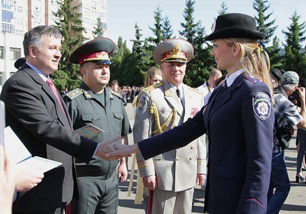 Выпускники МВД