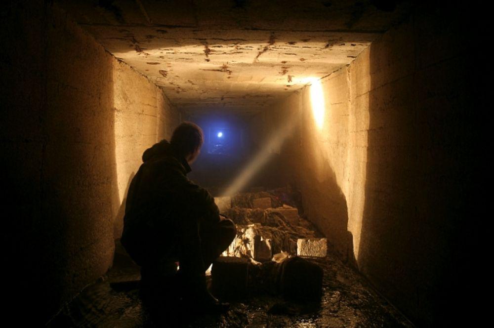 Встречаются и подземные завалы.