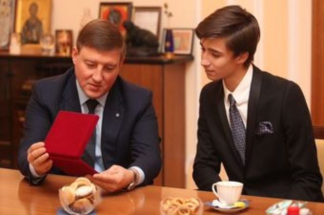 Кирилл Семенов вместе с Андреем Турчаком