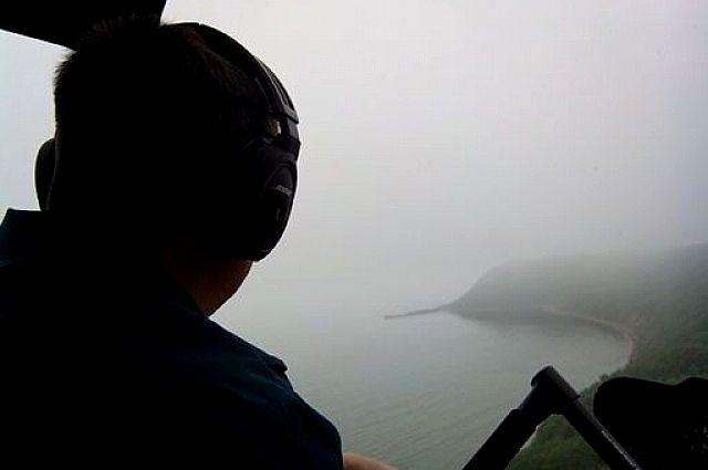 Во время облёта Хасанского района.