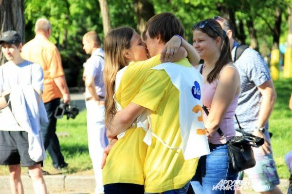 Главное условие – участвовать в забеге с любимой женщиной.