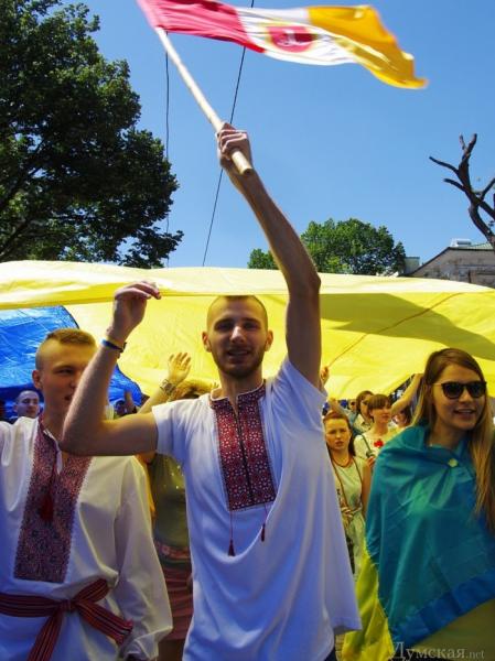 Парад вышиванок в Одессе