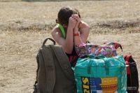 Люди уезжают из Донбасса