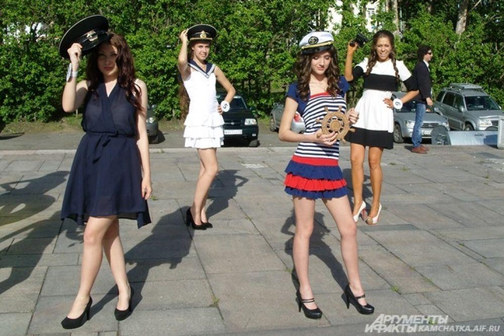 Участницы конкурса «Мисс лето-2014».