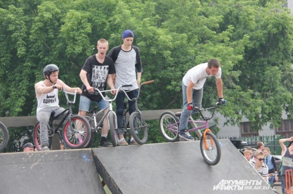 Молодежи пришлось сильно постараться, чтобы переплюнуть спортивных иркутских пенсионеров.