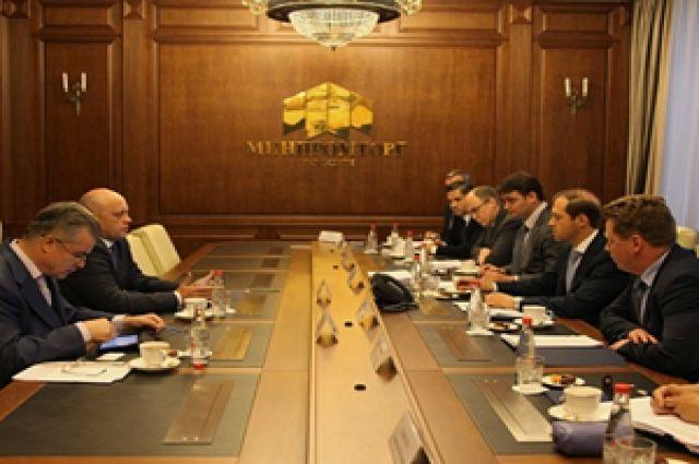 На заседании обсуждали важные вопросы сотрудничества.