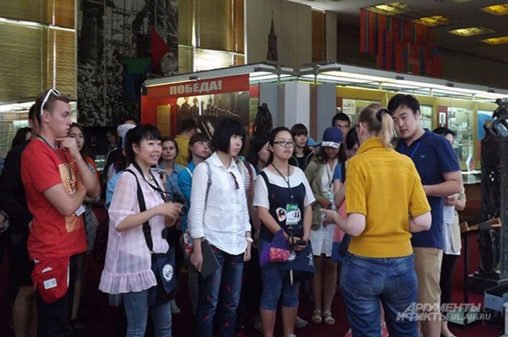 Туристы были очень внимательными
