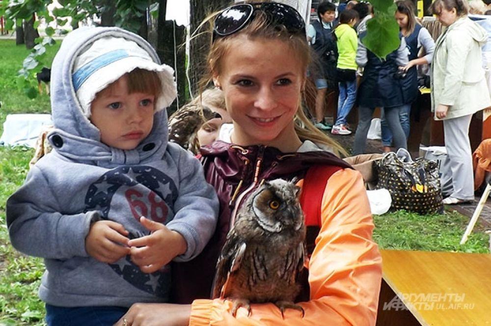 Фото с совой - на память