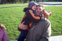 Павел дроздов с сыном.