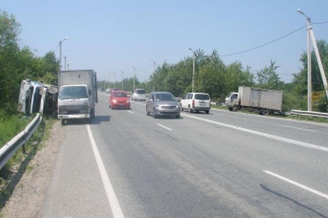ДТП в Надеждинском районе Приморья
