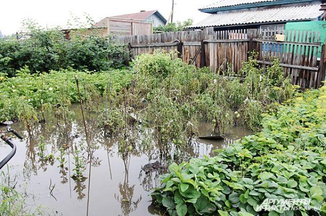 Вода ушла с 74 подтопленных дачных участков в Новосибирске
