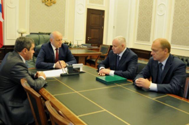Виктор Назаров встретился с Сергеем Дорофеевым.