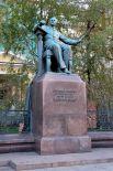В середине 50-х во дворике по Большой Никитской улице, перед зданием Московской государственной консерватории, установили памятник Петру Чайковскому, работа над которым продолжалась 25 лет. Ещё в 1929 году Мухина выполнила бюст композитора, а позже получила персональный заказ на полноценный монумент. Работа над композицией была завершена в 1954-м.
