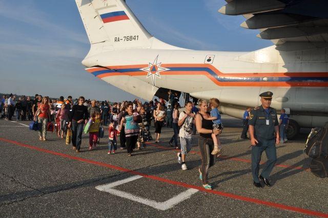 В Екатеринбург прибывают беженцы с Украины