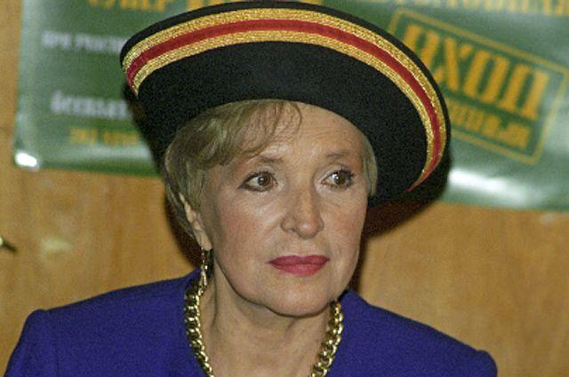 Народная артистка СССР Клара Лучко. 1999 год.