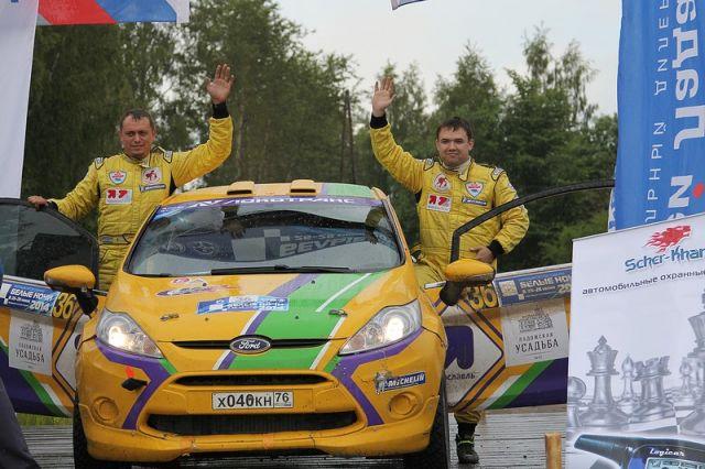 Экипаж Алексея Петрова и Андрея Верещагина завоевал «серебро» своего класса.