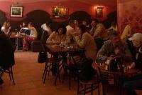 В Омске открылся новый ресторан при поддержке Сбербанка.