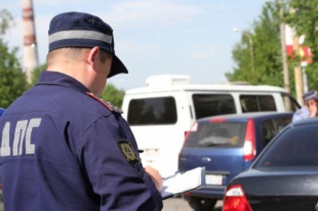 Скрывшийся с места ДТП виновник установлен полицейскими.