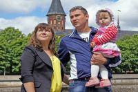 Семья Ваниных решила остаться в Калининграде навсегда.