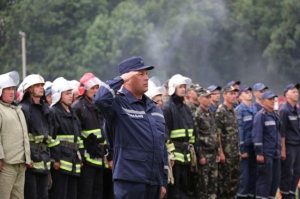 Спасатели готовы реагированию в зоне АТО