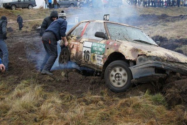 Эти машины грязи не боятся!