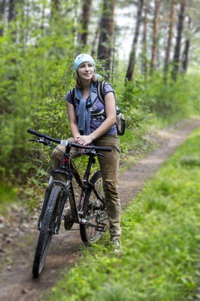 Участник №21 Шалинская Анастасия. Велопрогулка вдоль реки Иркут.