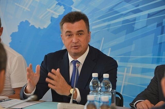 Выездное заседание администрации Приморского края в Ханкайском районе.