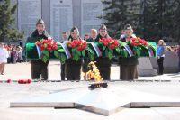 Традиционно много мероприятий в День Победы пройдут у мемориала «Вечный огонь» в Иркутске.