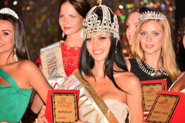 Победительницей конкурса Мисс Евразия стала представительница Узбекистана