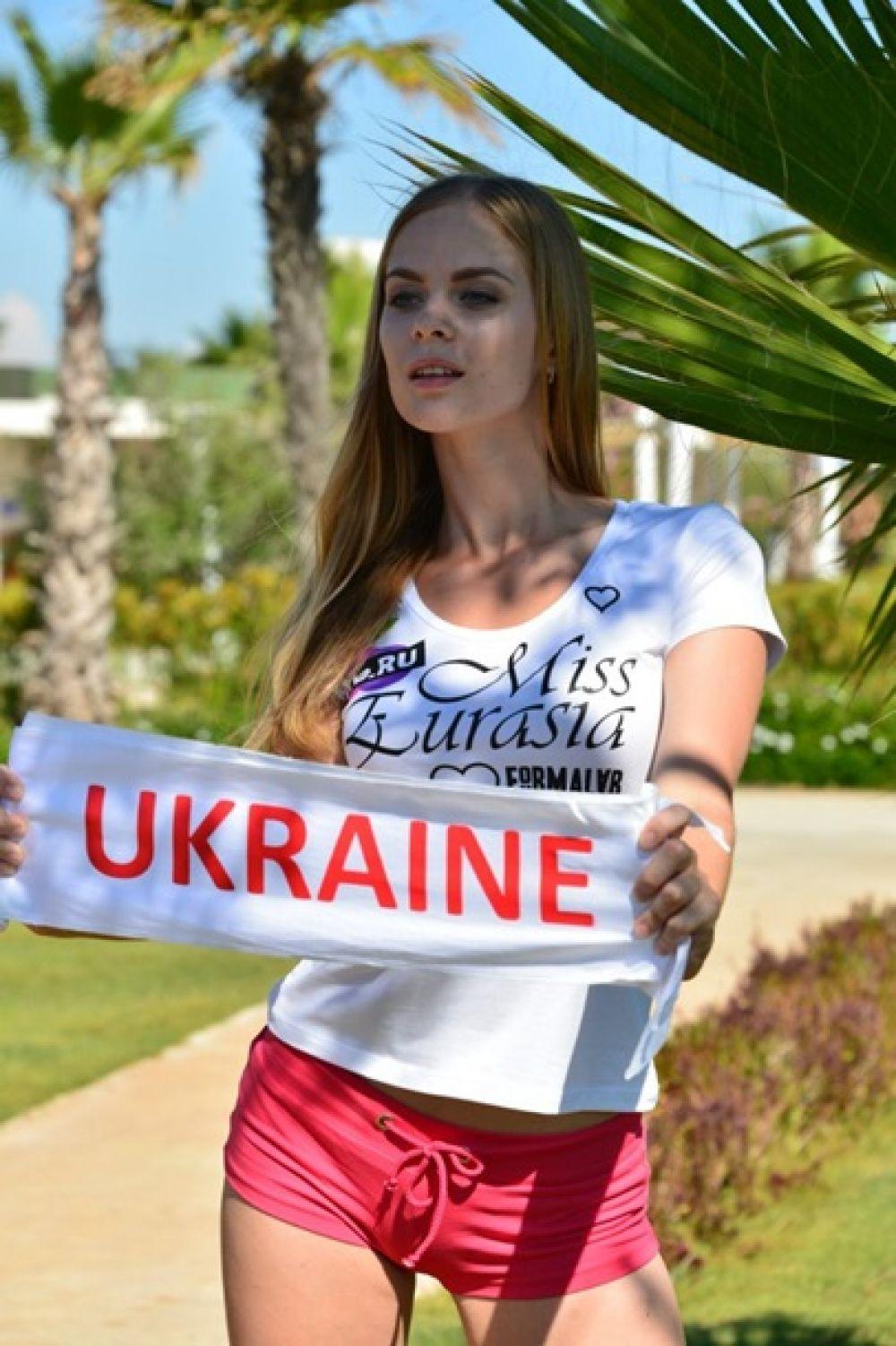 На конкурсе талантов Юлия демонстрировала элементы боевого искусства карате