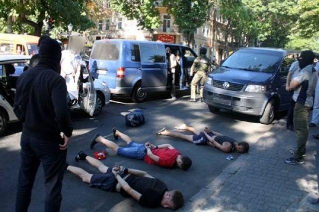 Задержание преступников