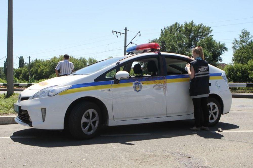 Расстрел сотрудников ГАИ в Донецке