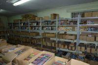 На складе обнаружили контрафактные диски.